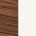 NCA/B1 Walnut Canaletto / Bloom White
