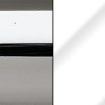 C/LBB Chromed / Lacquered Glossy White