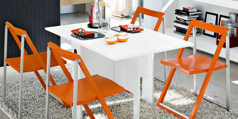 Sedie pieghevoli in legno plastica e alluminio mobilclick for Sedie design metallo