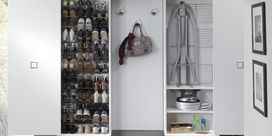 Shoe Racks and Storage