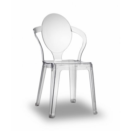 Sedia Spoon Scab Design in plastica/polipropilene Arredo Giardino SD-2332 0