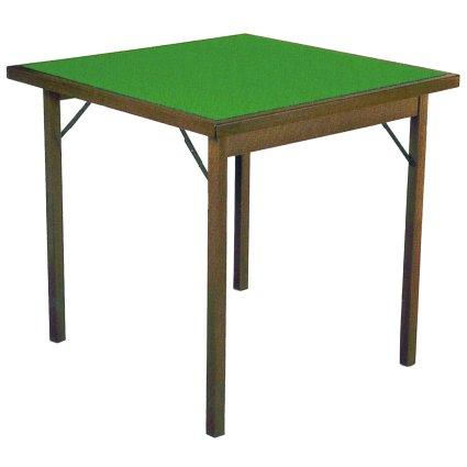 Tavolo da Gioco Classic 80 quadrato in legno Tavoli DF-711 0