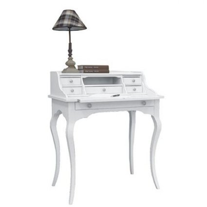 Scrittoio Secretaire Matisse in legno stile shabby chic per casa ristoranti comunità alberghi  Imba IM-6053/A 1