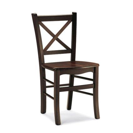 Sedia rustica in legno Atena per cucina bar ristoranti Sedie e tavoli 42Q 0