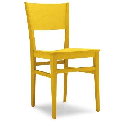 Sedia moderna in legno Fiuggi per cucina bar ristoranti Sedie e tavoli 47AB 0