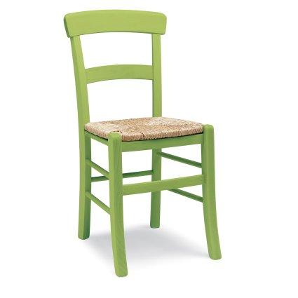 Sedia rustica in legno Roma per cucina bar ristoranti Sedie e tavoli 42L 0