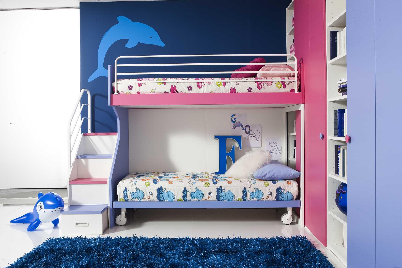Cameretta bambino fantasy 14 mobilclick - Camera da letto bambino ...