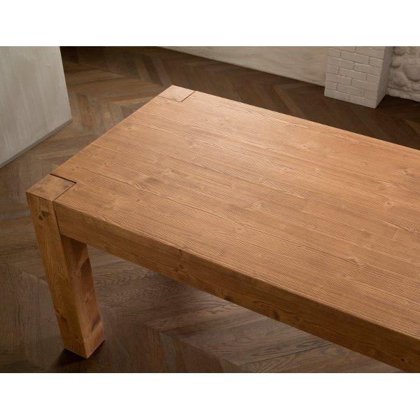 Tavolo in legno rustico classico shabby chic esencaj 160 allungabile 210 mobilclick - Tavolo in legno rustico ...
