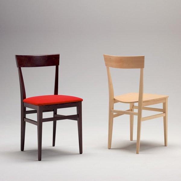 Sedia moderna in legno milano per cucina bar ristoranti for Sedia moderna cucina