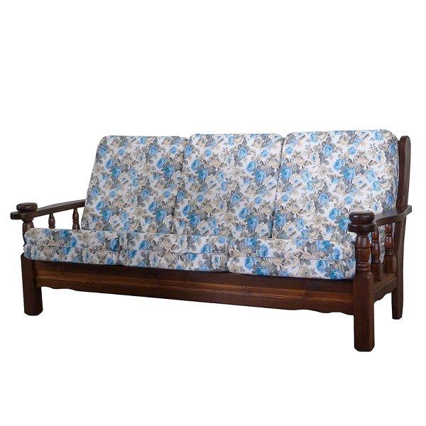 Divano 3 posti in legno vienna mobilclick for Divano 10 posti