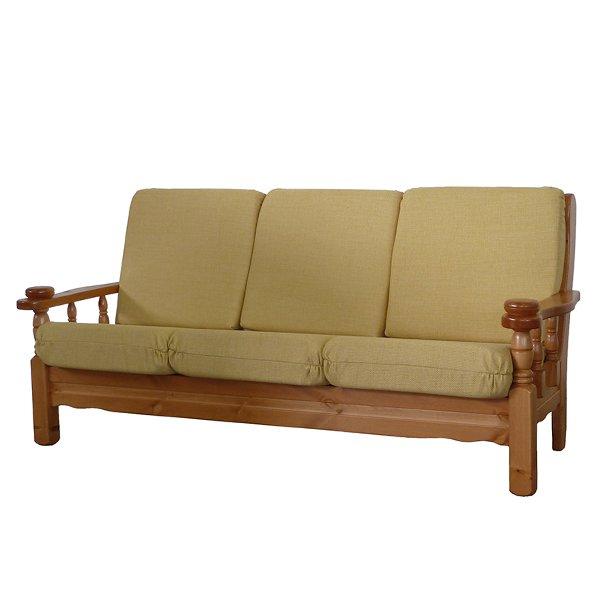 Divano 3 posti in legno Vienna - MobilClick