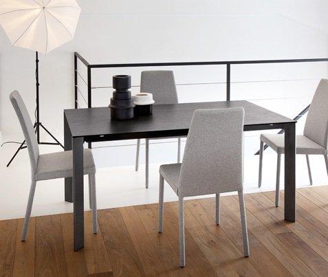 Tavolo cucina sala da pranzo moderno Universe-130 Domitalia - MobilClick