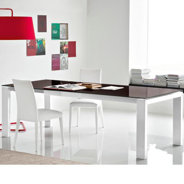 Cb 4069 Lv 180 Tavolo Sigma Glass Connubia Outlet Mobilclick