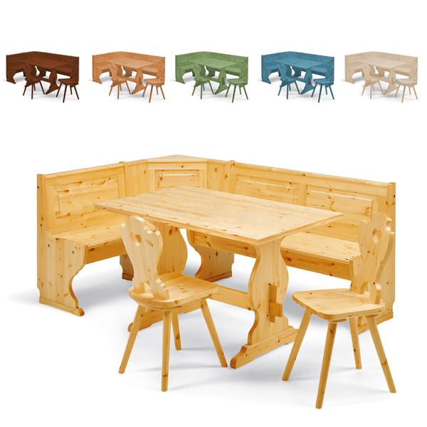 Giropanca in legno e rustico Priamo | Mobili Ilar - MobilClick