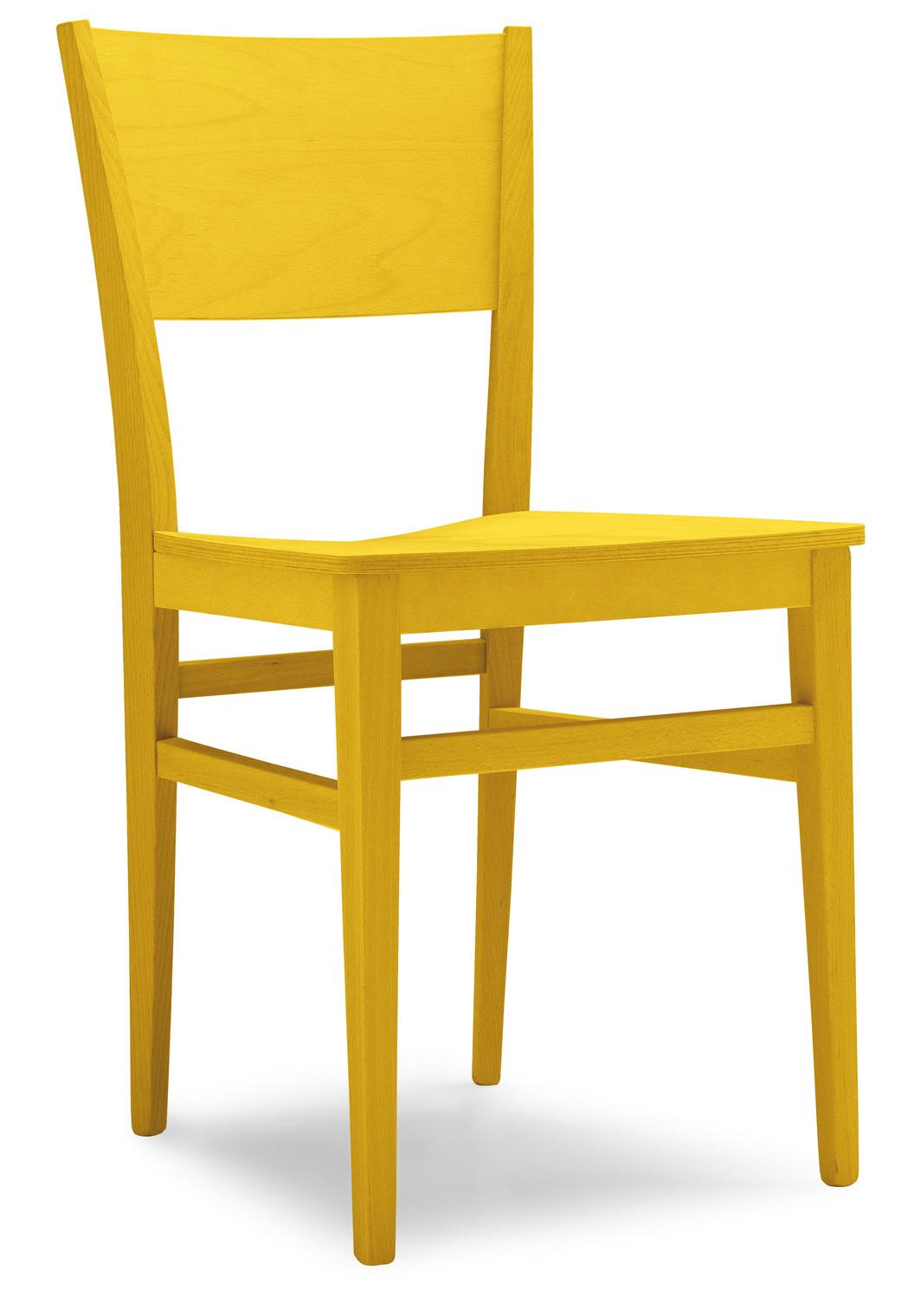 Sedia moderna in legno fiuggi per cucina bar ristoranti for Sedie legno moderne