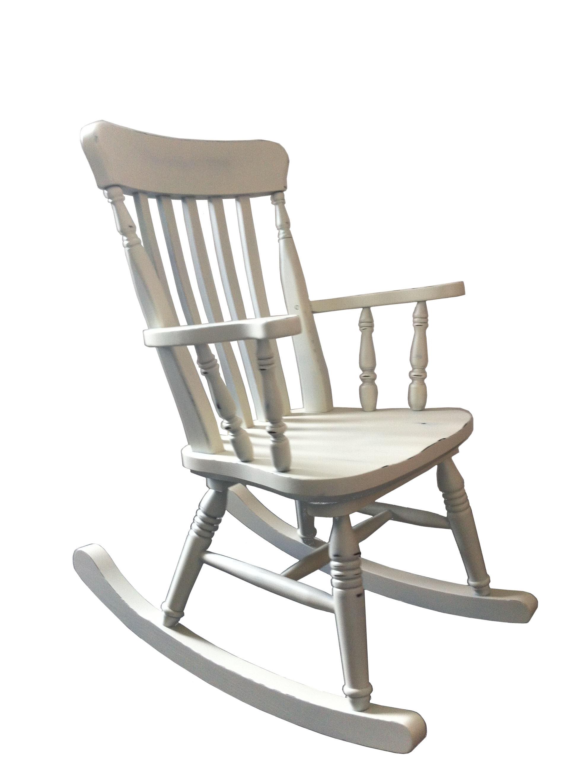 Sedia a dondolo rustica in legno rustico country cucina ristorante comunit bar mobilclick - Sedia a dondolo design ...