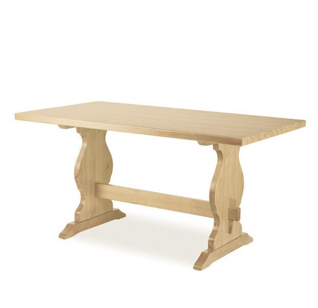 Tavolo paride fratino 130 legno grezzo mobilclick - Tavolo legno grezzo prezzo ...
