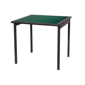 Tavolo da Gioco Torneo quadrato da 80 in legno Tavoli DF-713 0