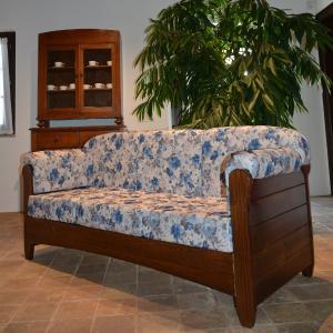 Divano 3 posti Venezia in legno rustico per casa alberghi bandb comunità Tutti i prodotti 5DVVNZ30M02 0