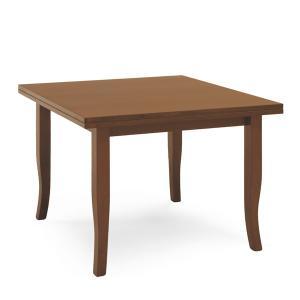Tavolo Arte Povera da 100 allungabile a libro a 200 Sedie e tavoli AP100LA 0