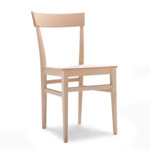 Sedia moderna in legno Milano per cucina bar ristoranti  Sedie e tavoli 47C 0