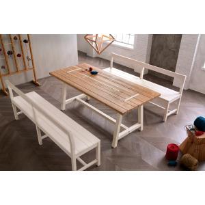 Tavolo in legno rustico classico shabby chic New Fratino 200 Tavoli CA-E2150 0