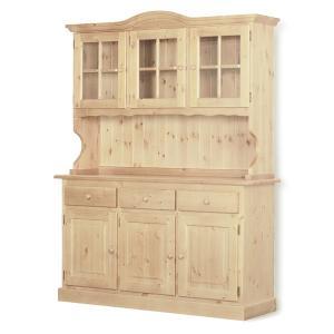 Credenza 3 ante Omero legno grezzo Fai da te 1CROME3AC0200 0