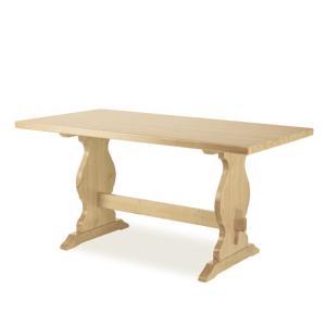 Tavolo Paride Fratino 130 legno grezzo Giorno 1TVPAR13FF200 0