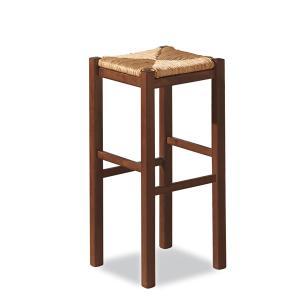 Sgabello Rustica h. 75 in legno per casa ristoranti pizzerie comunità bar Sedie e tavoli 425X 0