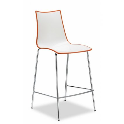 Scab Design Zebra Bicolore h. 65 Stool Chairs, Armchairs, Stools and Benches SD-2561 0