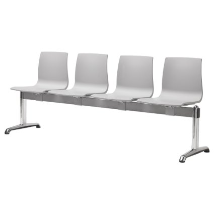 Scab Design Alice 4 seats Bench Fireproof Panche SD-2762 0
