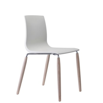 Scab Design Natural Alice legs with wood and steel Chair Sedie SD-2823 0
