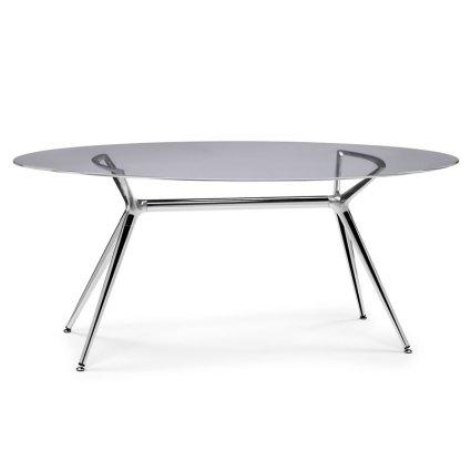 Scab Design Metropolis Elliptical 180 Table Tables SD-7011-001-5301 0