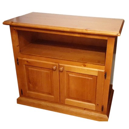 2 Doors wooden Television Cabinet Diana rustic country kitchen pizzeria restaurant community bar Outlet 1TVDIA85D22outlet 0