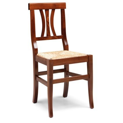 Arte Povera wooden chair Walnut Colour Temporary Outlet Sedie 40S-RIST 0
