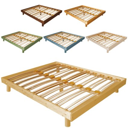 Atena Doble wooden Bed Frame for home hotels bandb comunity Outlet 4GLATE16192outlet 1