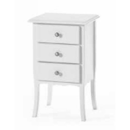 Breton wooden shabby chic style bedside table for home, restaurants, community, hotels Imba IM-6069A 0