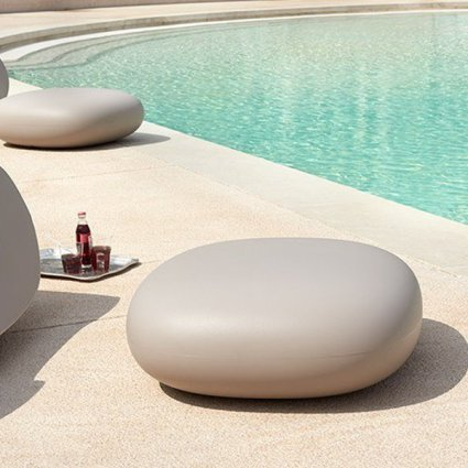 Chubby Low Pouf  Complementi SI-WCL030 0
