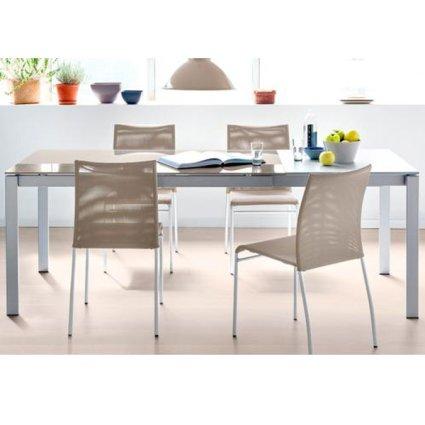 Connubia CB/4010-MV 160 8B  Baron Table Outlet Metal Tables CB-4010-MV-160-8B-OUTLET 1