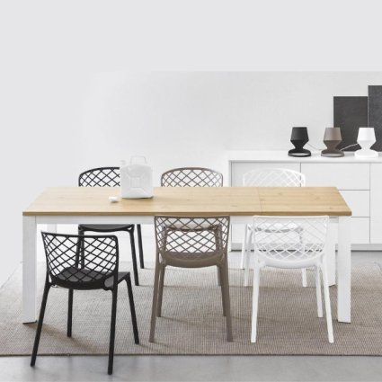 Connubia CB/4010-R 130 8B Baron Table Calligaris CS-4010-ML-130-8B 0