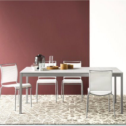 Connubia CB/4085-R 110 Snap Table Calligaris CS-4085-ML-110 0