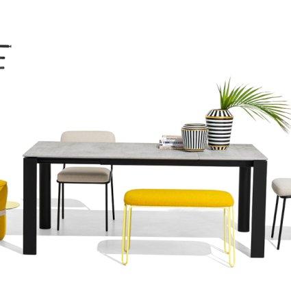 Connubia CB/4815-R 160 B Dorian Table Wooden Tables CB-4815-R-160-B 1