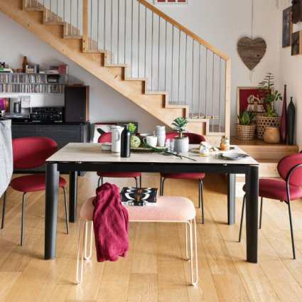 Connubia CB/4832-R 160 Lord Table Wooden Tables CB-4832-R-160 1