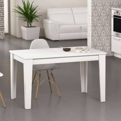 Empoli 160x90 modern extending table in wood for kitchen and dining room Imba MI-EMPOLI-160-ALL 6