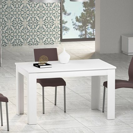 Firenze 110x70 modern extending table in wood for kitchen and dining room Imba MI-FIRENZE-110-ALL 0