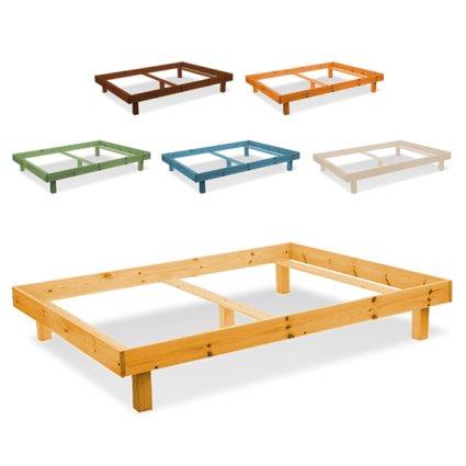 Galaxie Double wooden Bed Frame for home hotels bandb comunity Avea AV-GAL/16 1