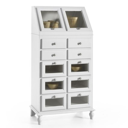 Klimt Storage Cupboard shabby chic style for home restaurants community hotels Imba IM-6058/A 1