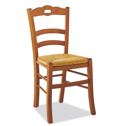 Loire rustic Chair Temporary Outlet Wooden Chairs 42C-OUTLET 1