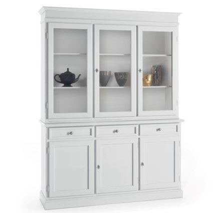 Manet wooden 3-door sideboard in shabby chic style for home, restaurants, community, hotels Imba IM-6037/A 1