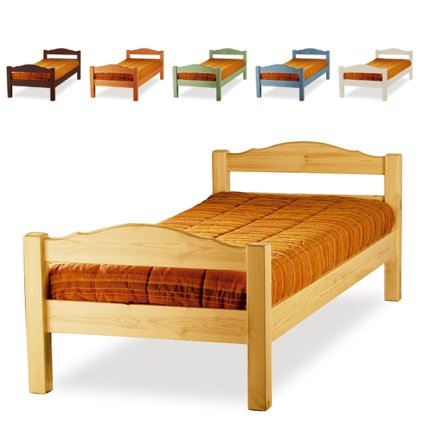 Mercurio Single wooden Bed for home hotels bandb comunity Bedroom Furniture MI-3LTMER089S2 1